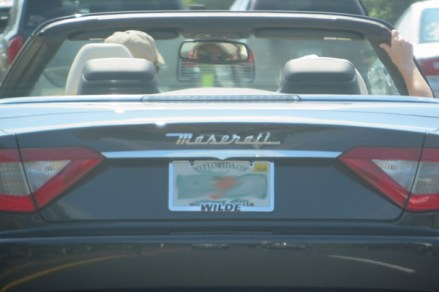 I couldn't help myself. It's a Maserati!!