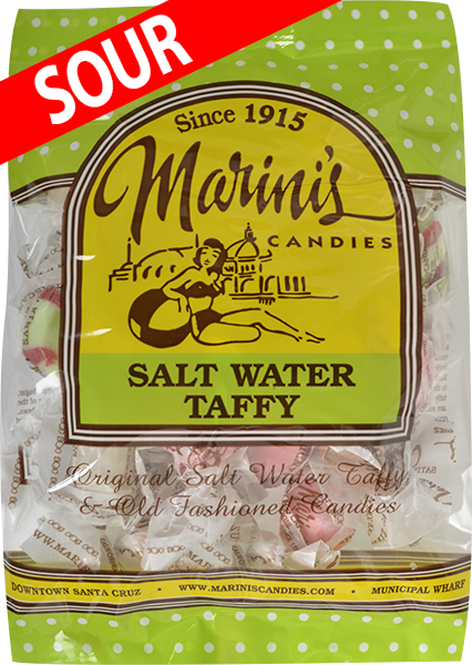 Sour Salt Water Taffy 1lb Box