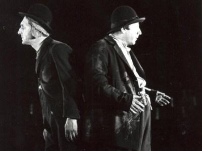 Marin Moraru si Gheorghe Dnica