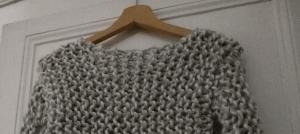 Pull laine XXL - Il était une maille