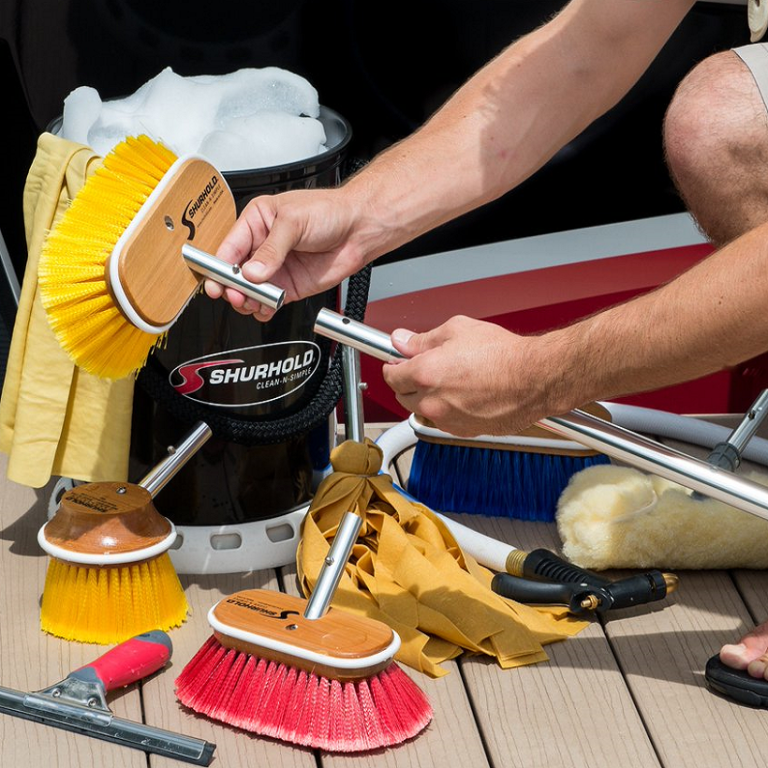 Choosing a Deck Brush