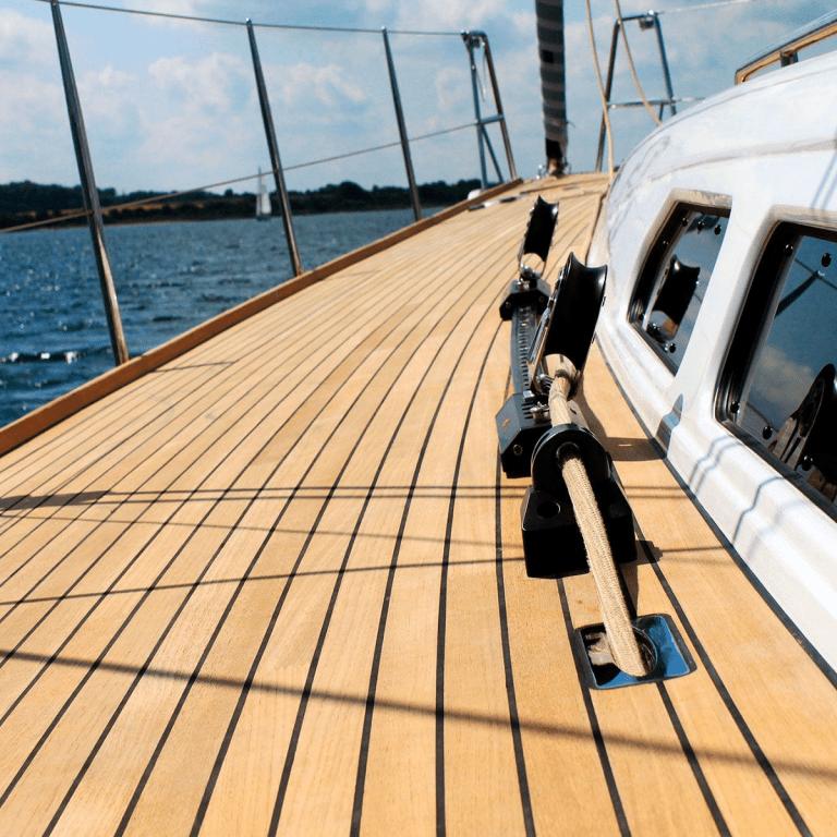 Teak Care on Boats