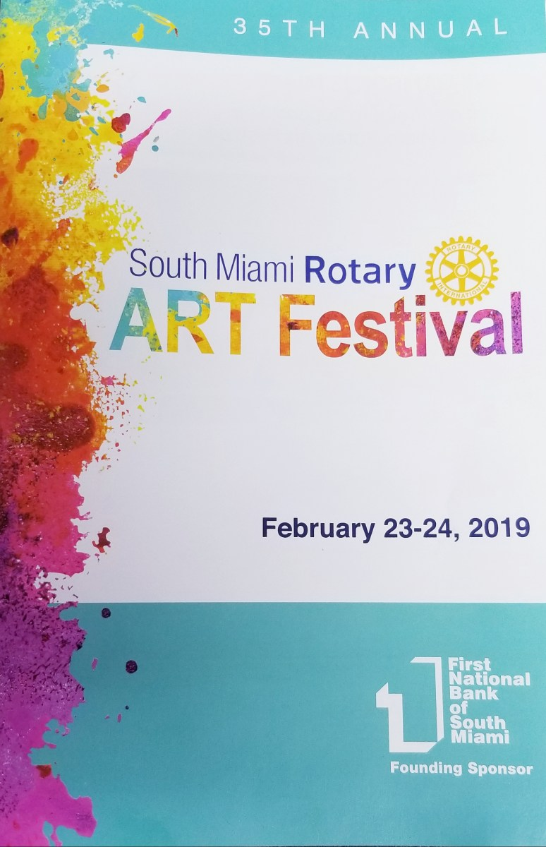 Proud Supporter of the South Miami Rotary Art Festival!