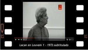 Lacan en Louvain 1 - 1972  -subtitulado al español