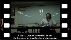 Clase 7. Lectura comentada de las Conferencias de Introducción al psicoanálisis