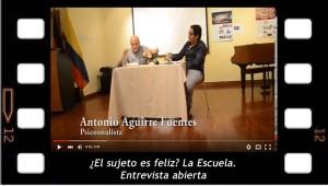 Entrevista abierta a Antonio Aguirre, tercera parte
