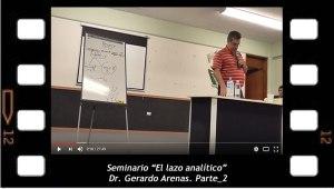 El lazo analítico 2. Gerardo Arenas