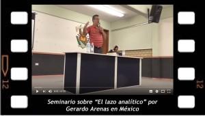 El lazo analítico. 1. Gerardo Arenas