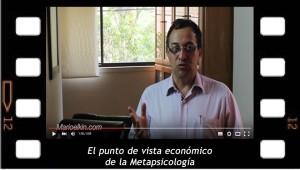 El punto de vista económico de la metapsicología. Explicación de Mario Elkin Ramírez