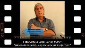 Entrevista a Juan Carlos Indart. Hiperconectados,consecuencias en la subjetividad