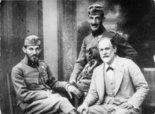 Freud y sus hijos guerra 1
