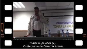 """""""Tomar la palabra"""" segunda parte de la conferencia de Gerardo Arenas en la Universidad Autónoma de Sinaloa"""