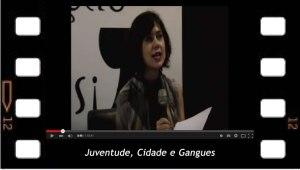 Cristiane de freitas interviene sobre: Juventude, cidade, Gangues debate con Psicoanalistas de la EBP-MG