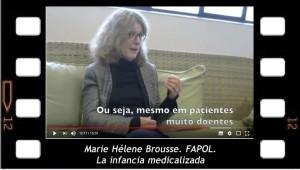 La infancia medicalizada. Marie Helene Brousse