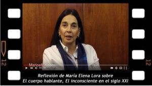 Maria Elena Lora reflexiona sobre El cuerpo hablante