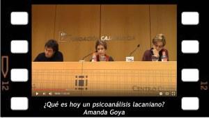 ¿Qué es hoy un psicoanálisis lacaniano? Conferencia de Amanda Goya en Murcia