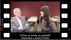 ¿cómo se forma un analista? Entrevista a Antoni Vicens