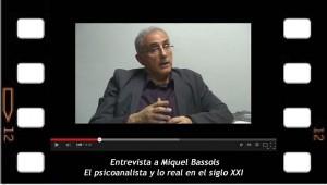 Miquel Bassols, presenta las Jornadas de la NEL, lo real en el siglo XXi