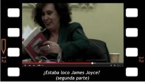 Estaba Loco James Joyce 2, Araceli Fuentes