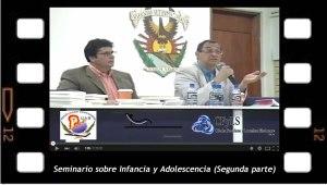 Seminario sobre Infancia y Adolescencia 2, en la Universidad de Sinaloa, México