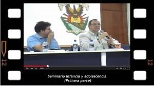 Seminario Infancia y adolescencia 1. Dictado en la Universidad Autónoma de Sinaloa