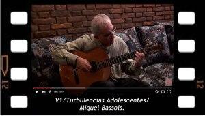 V1. Turbulencias Adolescentes. Miquel Bassols.