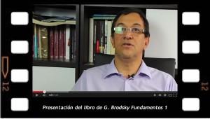 """Presentación del libro de Graciela Brodsky """"Fundamentos 1"""""""