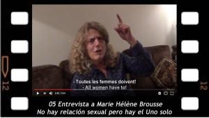 05_Marie-Hélène Brousse: No hay relación sexual pero hay el Uno solo.