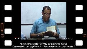 Comentario de Lo inconsciente de Freud, capitulo 3