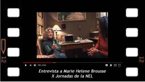 Entrevista a Marie Helene Brousse, X Jornadas de la NEL