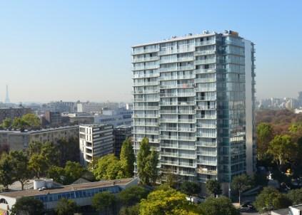 Transformation of Housing Block - Paris 17°, Tour Bois le Prêtre