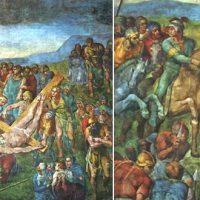 Il restauro della Cappella Paolina rivela l'ultimo autoritratto di Michelangelo