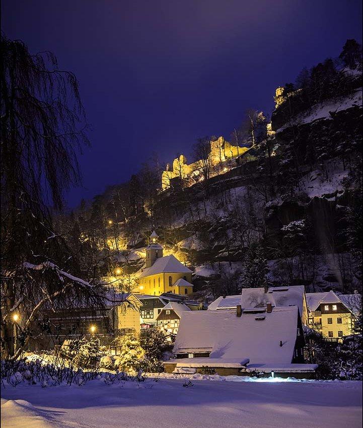 Winterzauber in Oybin