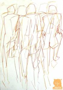 Multiple figures drawing on one page