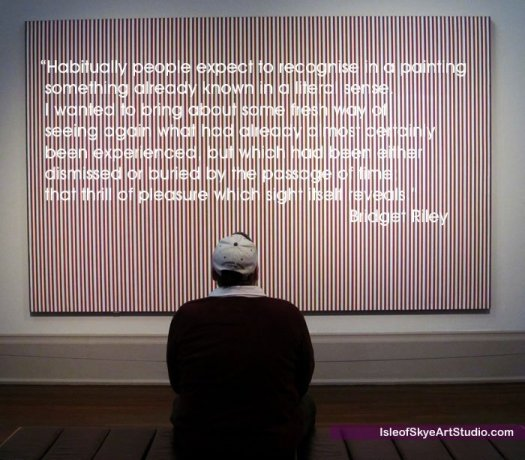 Artist Bridget Riley Quote