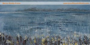 Edges: Edge of the Fog Painting by Skye artist Marion Boddy-Evans