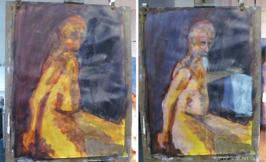 Workshop Day 2: Figure Painting with Acrylic