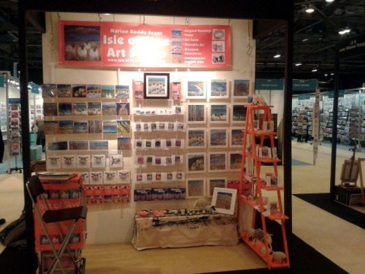 My Stand at Scottish Trade Fair Spring 2015