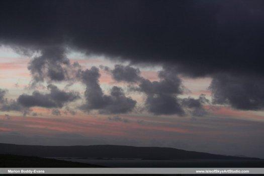 Skye Sunset 3 January 2015 #3