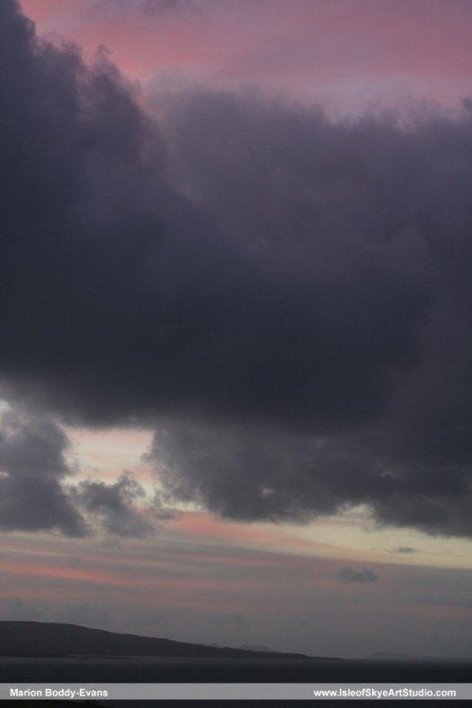 Skye Sunset 3 January 2015 #2