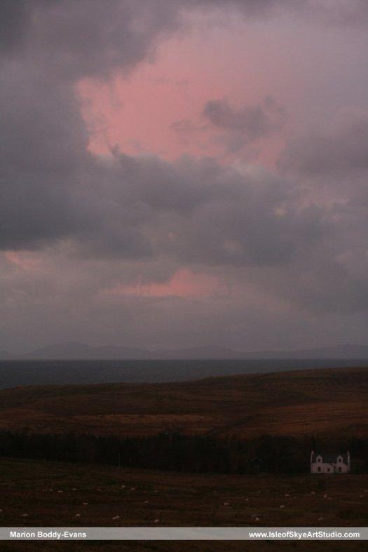 Skye Sunset 3 January 2015 #1