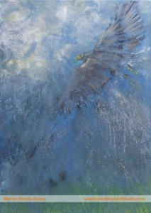 Air Flow eagle painting