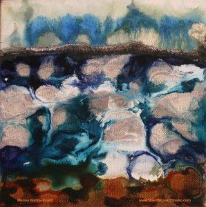 Winter Storms painting Skye Minch Scotland