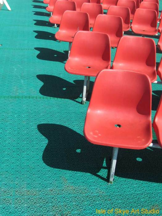 Uig to Stornoway Ferry Trip: Abstracts chairs