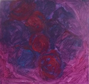 Painting Roses Underpainting