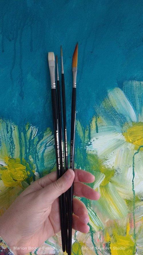 New Paint Brushes for Studio