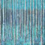 Tree Painting: The Descending Blue by Marion Boddy-Evans