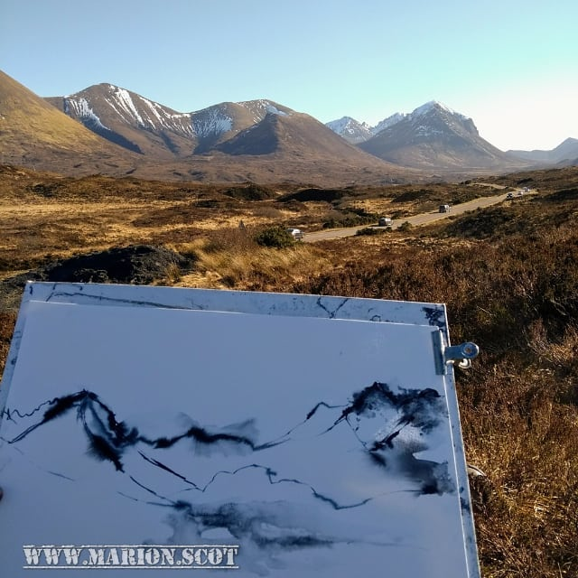 Join Me for a Workshop in September: Sketch to Studio on Skye