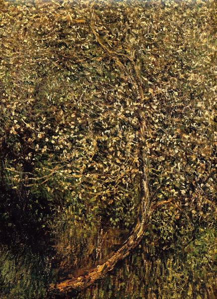 Monet Apples Trees in Blossom