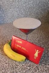 Banana, I Love You Chocolate, Soy Milk Smoothie